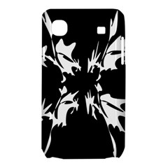 Black and white pattern Samsung Galaxy SL i9003 Hardshell Case