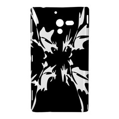 Black and white pattern Sony Xperia ZL (L35H)