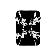 Black and white pattern Apple iPad Mini Protective Soft Cases