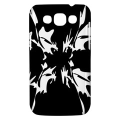Black and white pattern Samsung Galaxy Win I8550 Hardshell Case