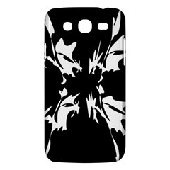 Black and white pattern Samsung Galaxy Mega 5.8 I9152 Hardshell Case