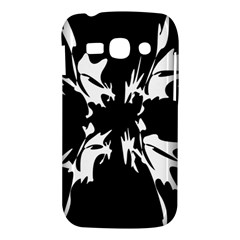 Black and white pattern Samsung Galaxy Ace 3 S7272 Hardshell Case