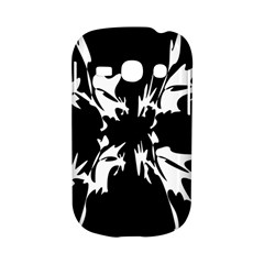 Black and white pattern Samsung Galaxy S6810 Hardshell Case