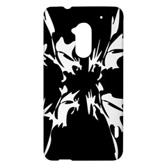 Black and white pattern HTC One Max (T6) Hardshell Case
