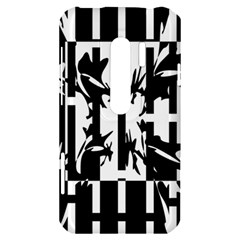 Black and white abstraction HTC Evo 3D Hardshell Case