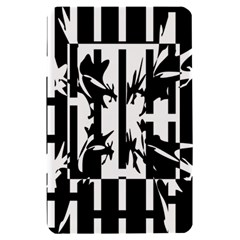 Black and white abstraction Kindle Fire (1st Gen) Hardshell Case