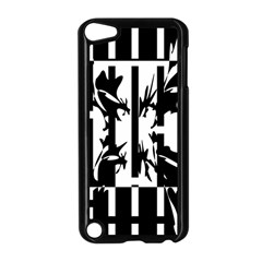 Black and white abstraction Apple iPod Touch 5 Case (Black)