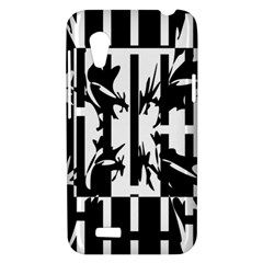 Black and white abstraction HTC Desire VT (T328T) Hardshell Case