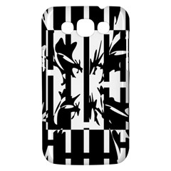 Black and white abstraction Samsung Galaxy Win I8550 Hardshell Case
