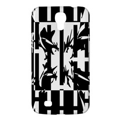 Black and white abstraction Samsung Galaxy Mega 6.3  I9200 Hardshell Case