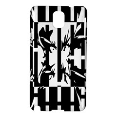 Black and white abstraction Samsung Galaxy Note 3 N9005 Hardshell Case