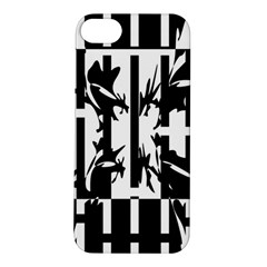 Black and white abstraction Apple iPhone 5S/ SE Hardshell Case