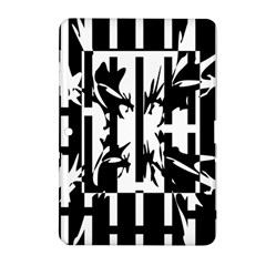 Black and white abstraction Samsung Galaxy Tab 2 (10.1 ) P5100 Hardshell Case