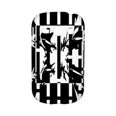 Black and white abstraction Samsung Galaxy S6810 Hardshell Case