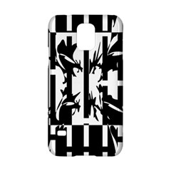 Black and white abstraction Samsung Galaxy S5 Hardshell Case