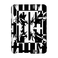 Black and white abstraction Amazon Kindle Fire (2012) Hardshell Case