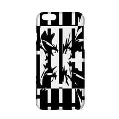 Black and white abstraction Apple iPhone 6/6S Hardshell Case