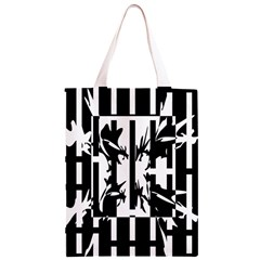 Black and white abstraction Classic Light Tote Bag