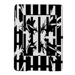 Black and white abstraction iPad Air 2 Hardshell Cases