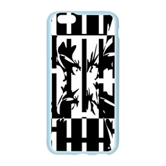 Black and white abstraction Apple Seamless iPhone 6/6S Case (Color)