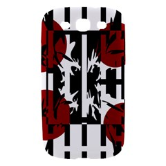 Red, black and white elegant design Samsung Galaxy S III Hardshell Case