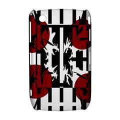 Red, black and white elegant design Curve 8520 9300