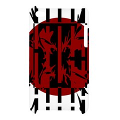 Red, black and white decorative design Apple iPod Touch 4