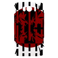 Red, black and white decorative design HTC Sensation XL Hardshell Case
