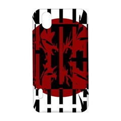 Red, black and white decorative design LG Optimus P970