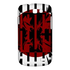 Red, black and white decorative design Samsung Galaxy Express I8730 Hardshell Case