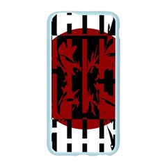 Red, black and white decorative design Apple Seamless iPhone 6/6S Case (Color)