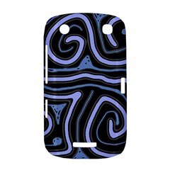 Blue abstract design BlackBerry Curve 9380
