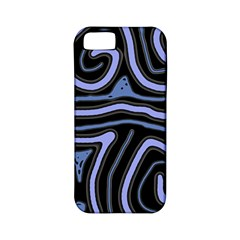 Blue abstract design Apple iPhone 5 Classic Hardshell Case (PC+Silicone)