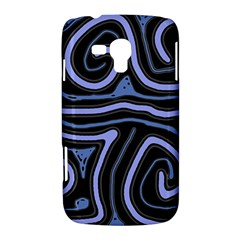 Blue abstract design Samsung Galaxy Duos I8262 Hardshell Case