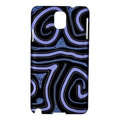 Blue abstract design Samsung Galaxy Note 3 N9005 Hardshell Case