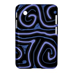 Blue abstract design Samsung Galaxy Tab 2 (7 ) P3100 Hardshell Case
