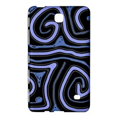 Blue abstract design Samsung Galaxy Tab 4 (8 ) Hardshell Case