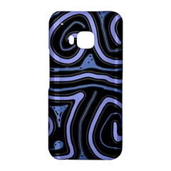 Blue abstract design HTC One M9 Hardshell Case