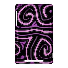 Purple neon lines Nexus 7 (2012)