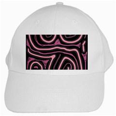 Decorative lines White Cap