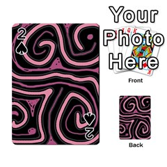 Decorative lines Playing Cards 54 Designs