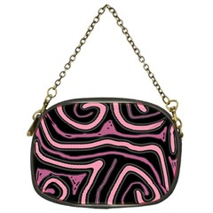 Decorative lines Chain Purses (One Side)