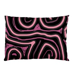 Decorative lines Pillow Case (Two Sides)
