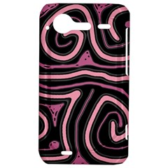 Decorative lines HTC Incredible S Hardshell Case