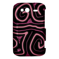 Decorative lines HTC Wildfire S A510e Hardshell Case