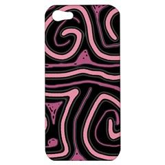 Decorative lines Apple iPhone 5 Hardshell Case