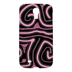 Decorative lines Samsung Galaxy S4 I9500/I9505 Hardshell Case