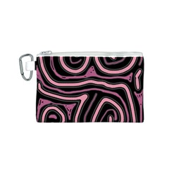 Decorative lines Canvas Cosmetic Bag (S)