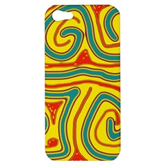 Colorful decorative lines Apple iPhone 5 Hardshell Case