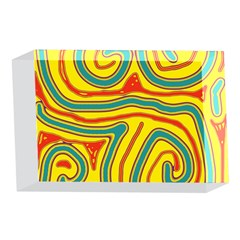 Colorful decorative lines 4 x 6  Acrylic Photo Blocks
